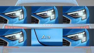 Audi A3 Matrix Lichtsignatur