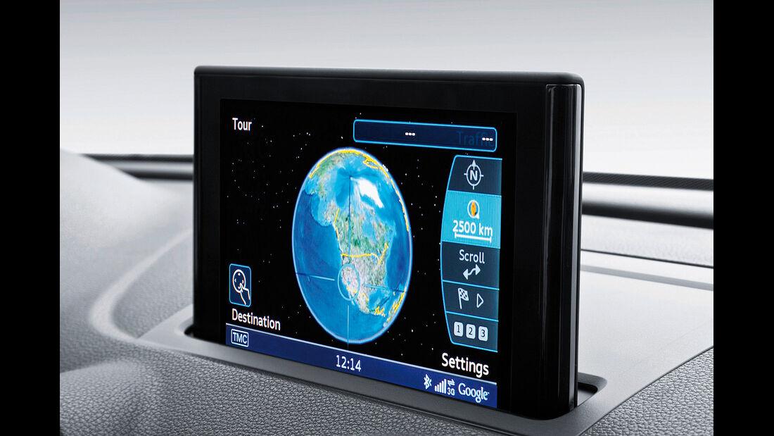 Audi A3, Navigation