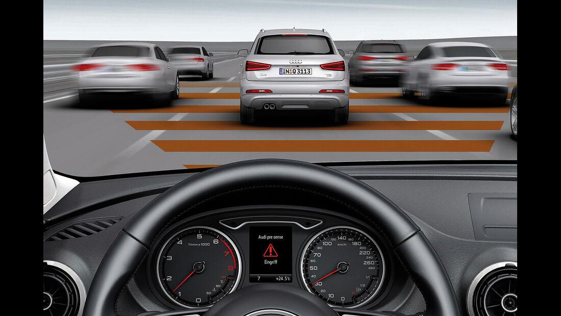 Audi A3, Pre Sense Front