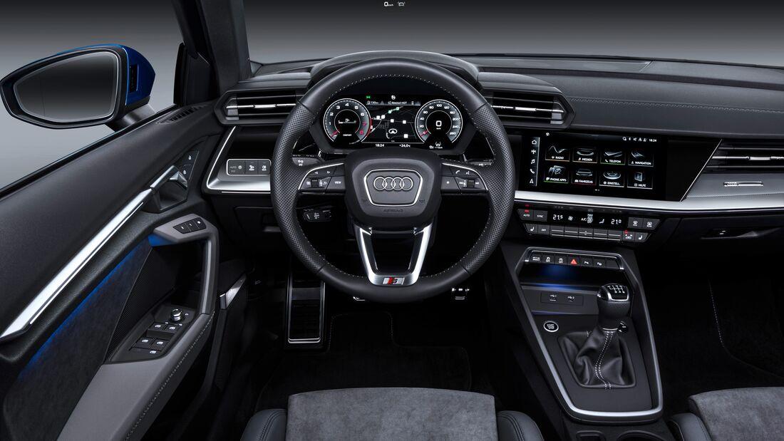 Audi A3 Premiere Genf 2020