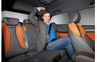 Audi A3, Rückbank, Kopffreiheit