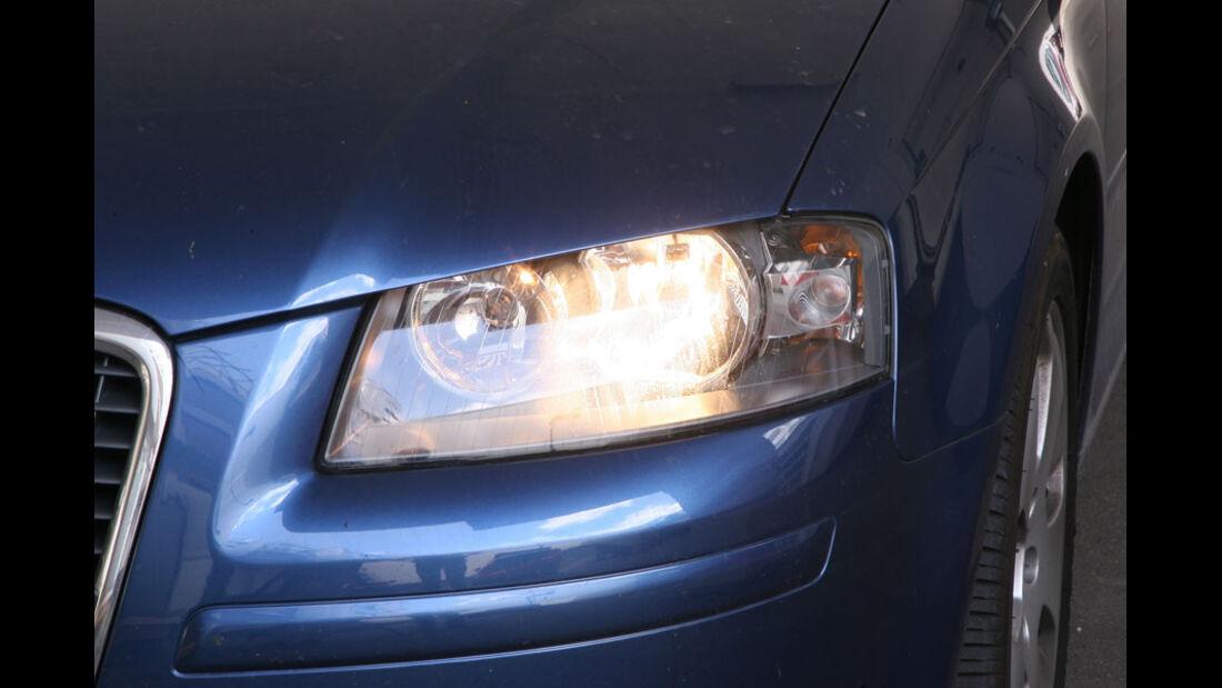 Audi A3, Scheinwerfer