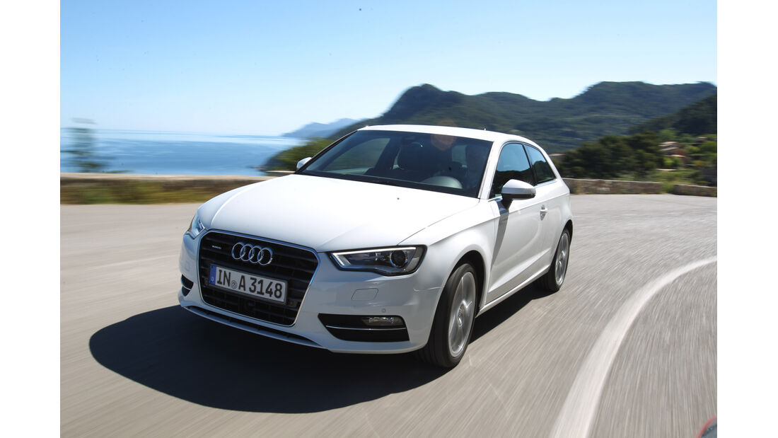 Audi A3, Seitenansicht