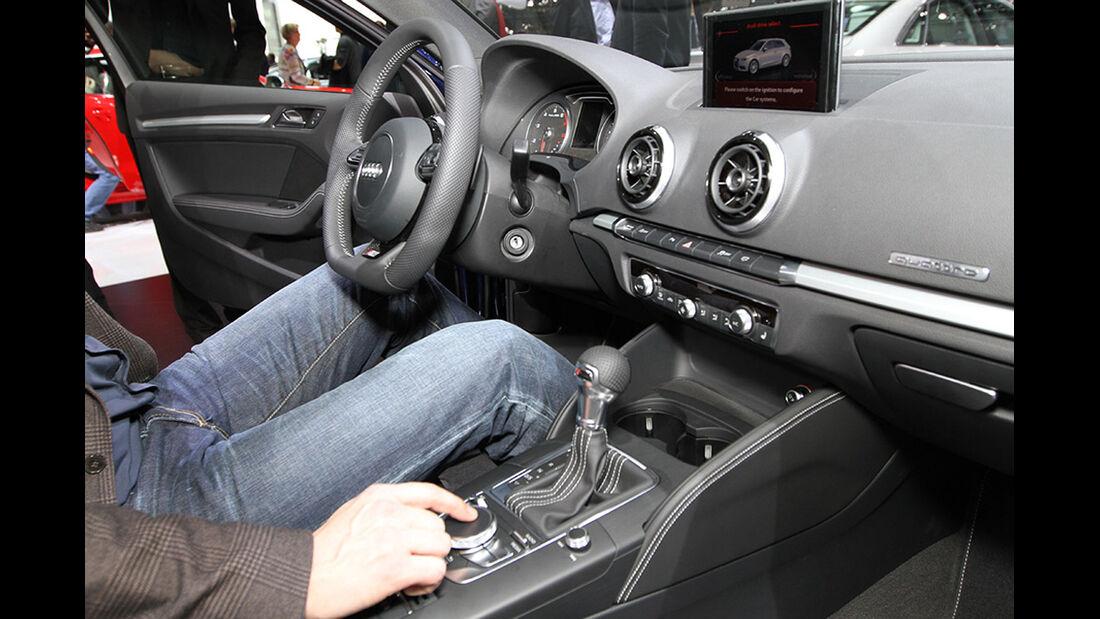 Audi A3 Sitzprobe Alexander Bloch Genf