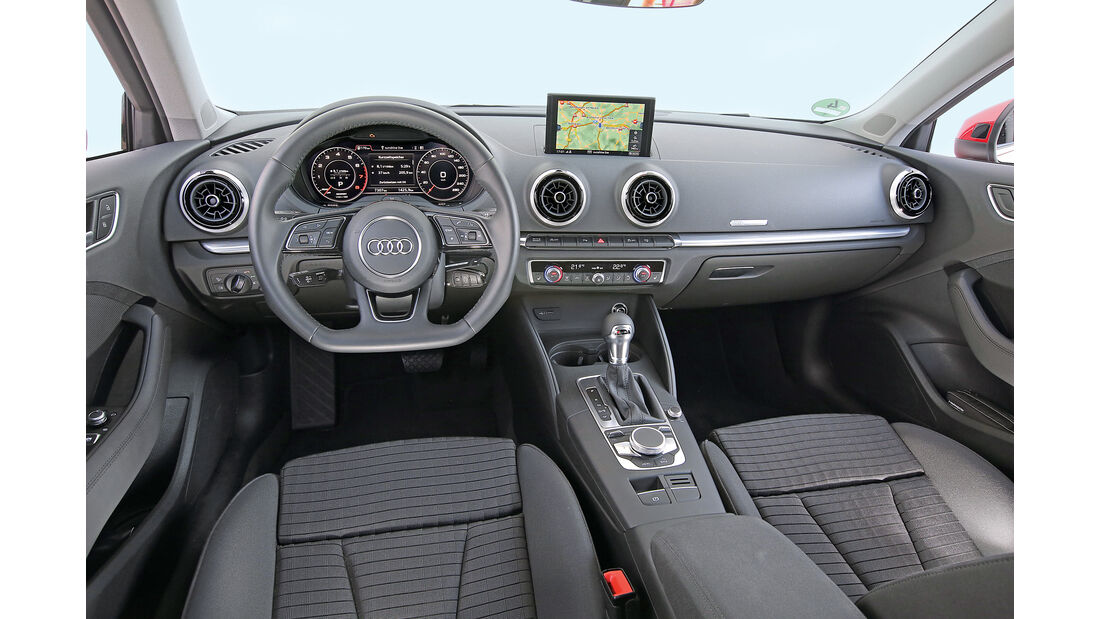 Audi A3 Sportback 1.0 TFSI, Cockpit