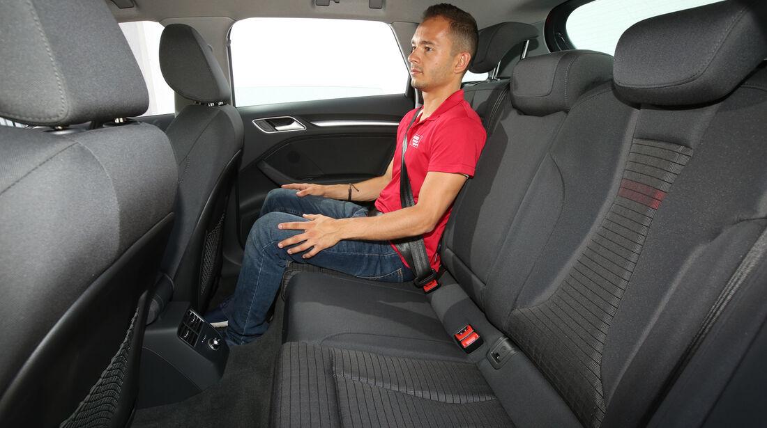 Audi A3 Sportback 1.0 TFSI, Fondsitz