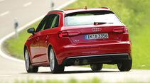 Audi A3 Sportback 1.0 TFSI, Heckansicht