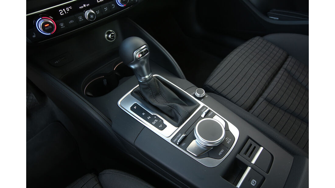 Audi A3 Sportback 1.0 TFSI, Schalthebel