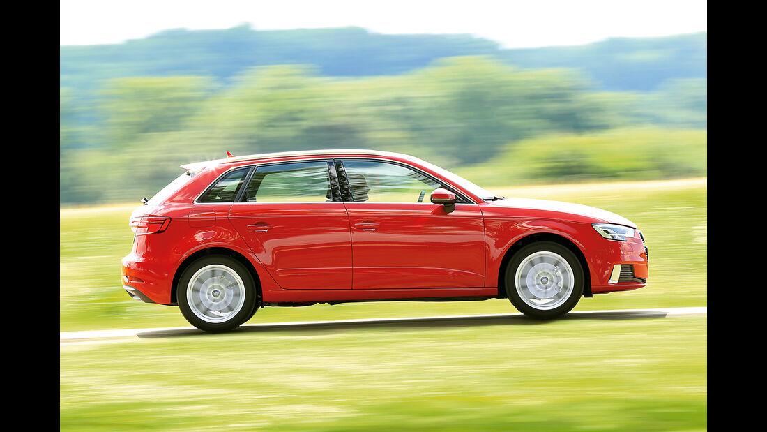 Audi A3 Sportback 1.0 TFSI, Seitenansicht