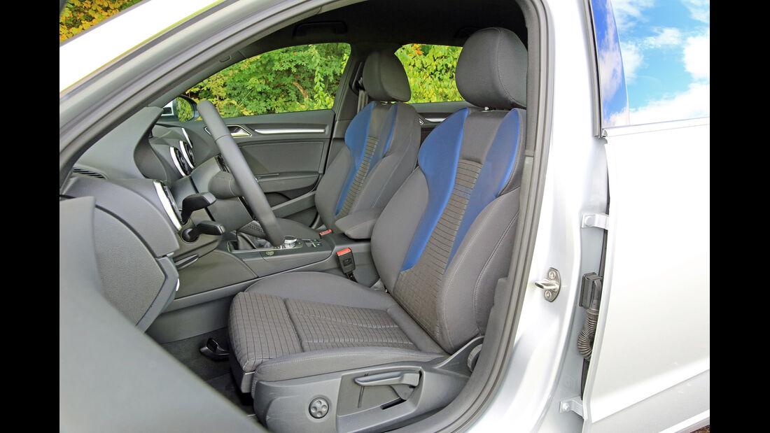 Audi A3 Sportback 1.2 TFSI, Fahrersitz
