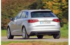 Audi A3 Sportback 1.2 TFSI, Heckansicht