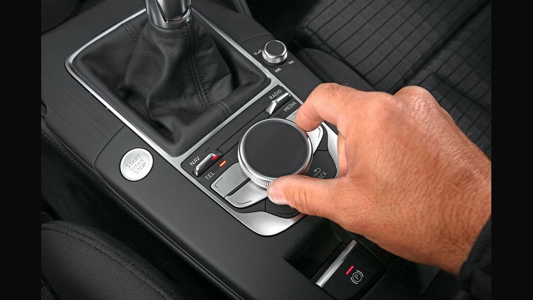 Audi A3 Sportback 1.4 TFSI, Bedienelement
