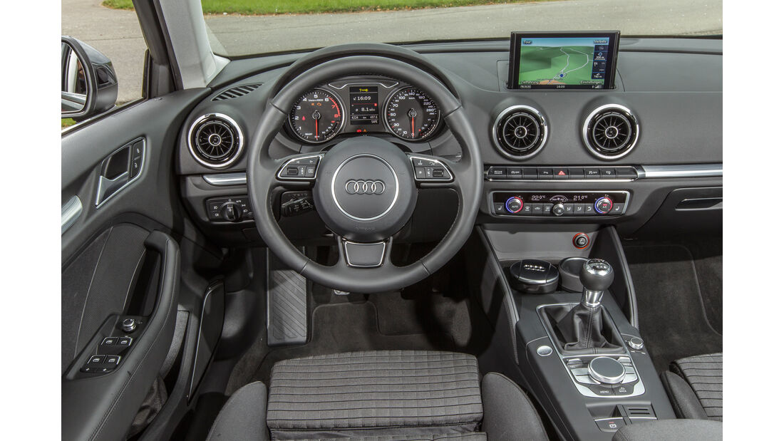 Audi A3 Sportback 1.4 TFSI COD, Cockpit
