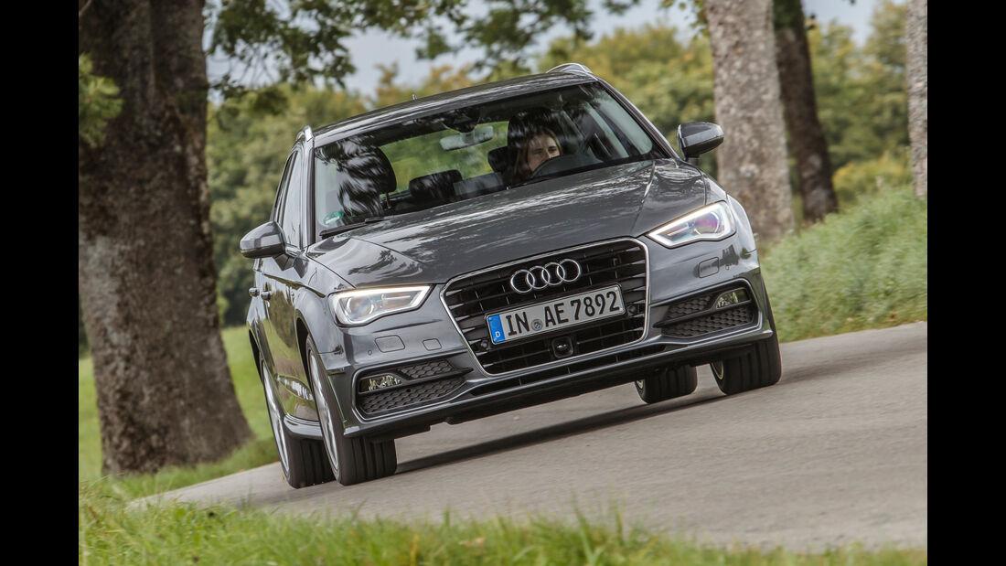 Audi A3 Sportback 1.4 TFSI COD, Frontansicht