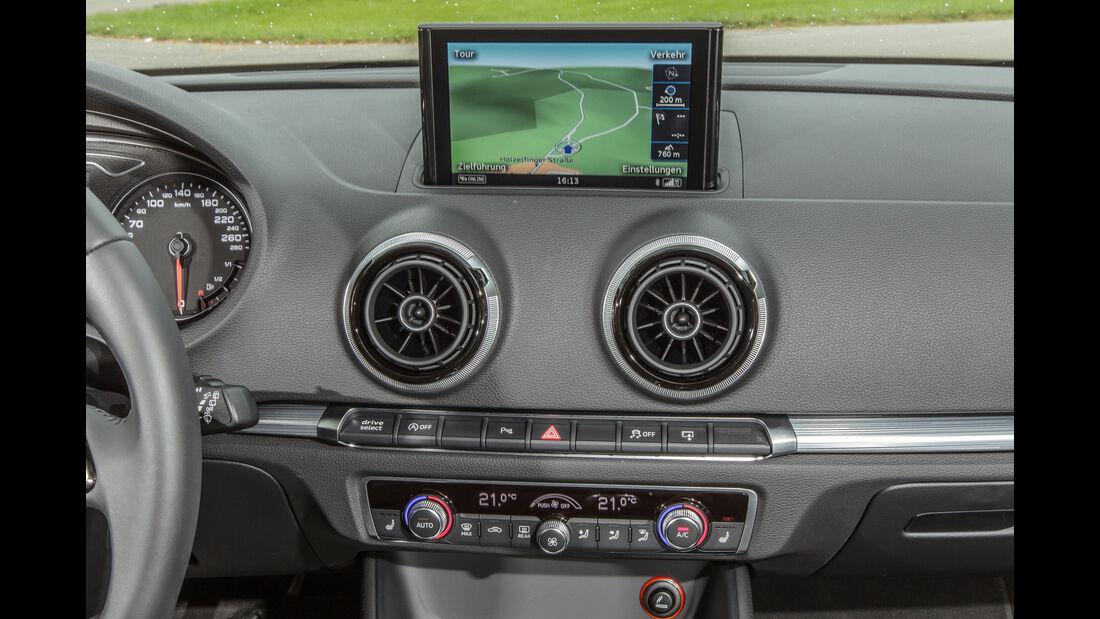Audi A3 Sportback 1.4 TFSI COD, Navi, Monitor