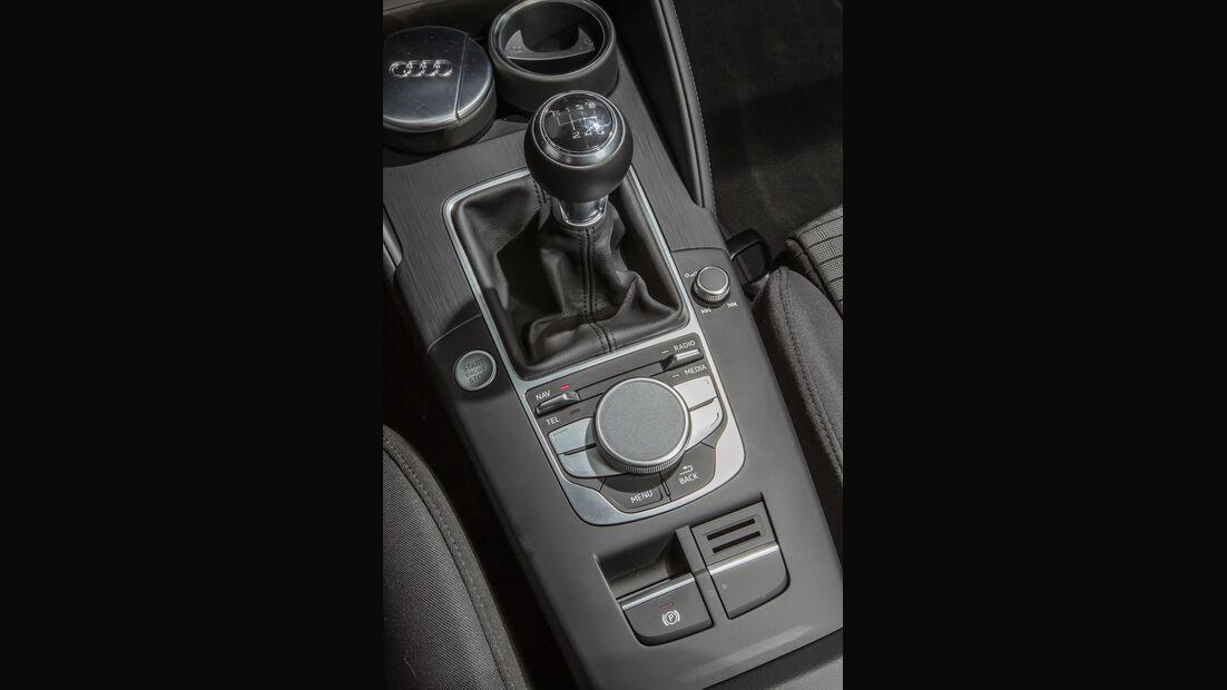 Audi A3 Sportback 1.4 TFSI COD, Schalthebel