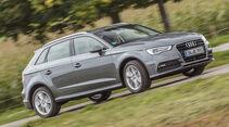 Audi A3 Sportback 1.4 TFSI COD, Seitenansicht