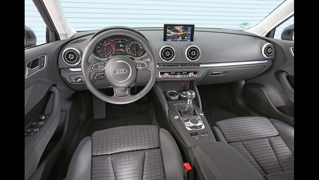 Audi A3 Sportback 1.4 TFSI, Cockpit