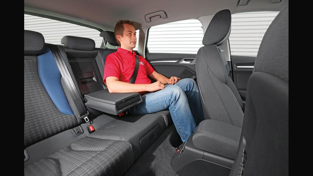 Audi A3 Sportback 1.4 TFSI, Fondsitz