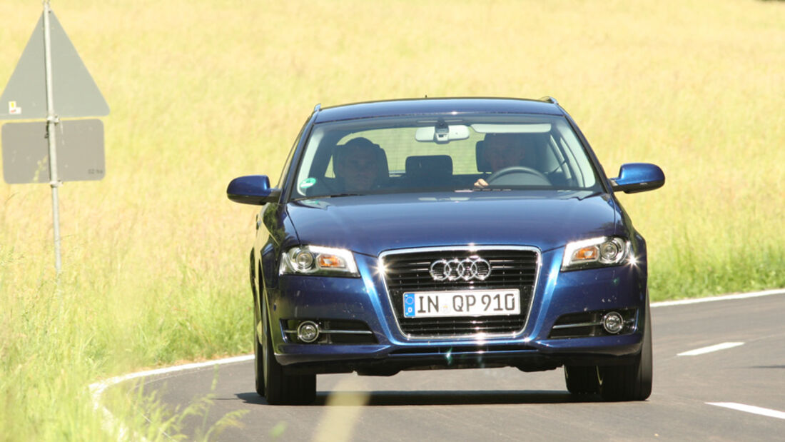 Audi A3 Sportback 1.4 TFSI, Front, Frontansicht