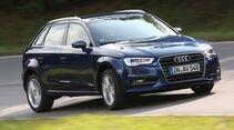 Audi A3 Sportback 1.4 TFSI, Frontansicht