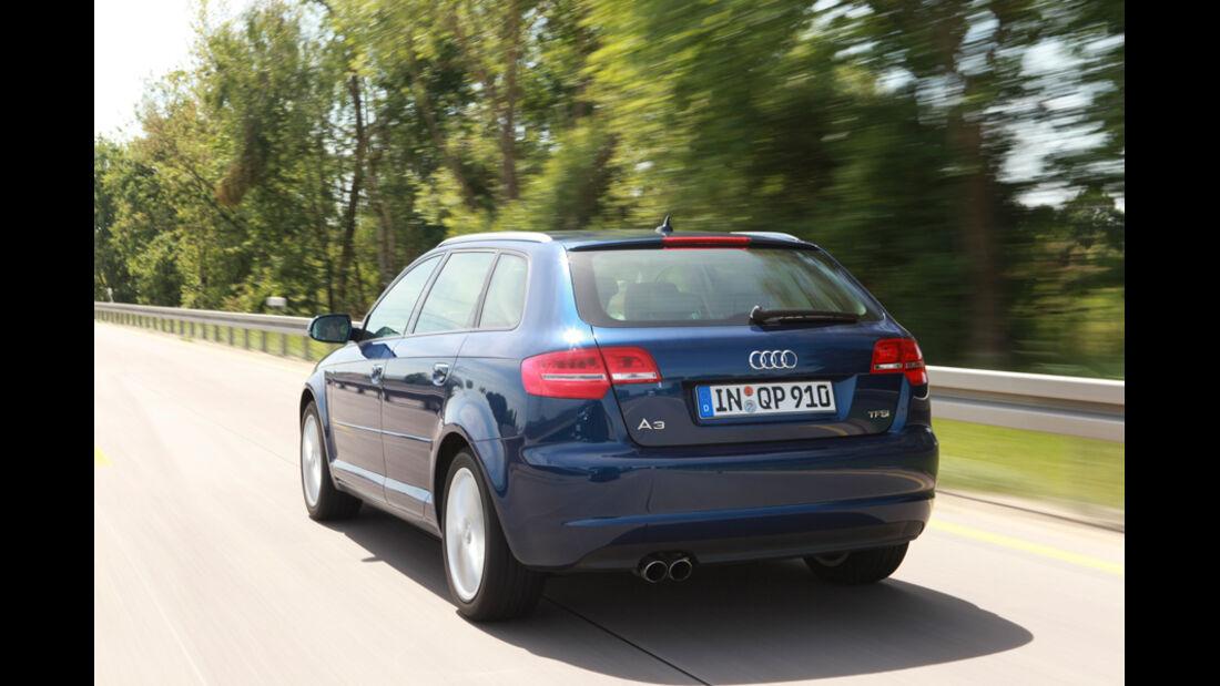 Audi A3 Sportback 1.4 TFSI, Heck, Rückansicht
