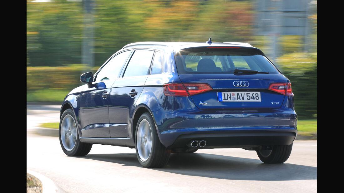 Audi A3 Sportback 1.4 TFSI, Heckansicht