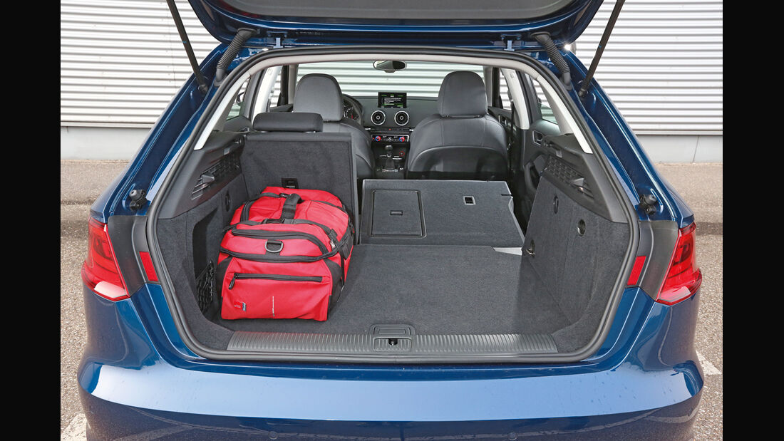 Audi A3 Sportback 1.4 TFSI, Kofferraum