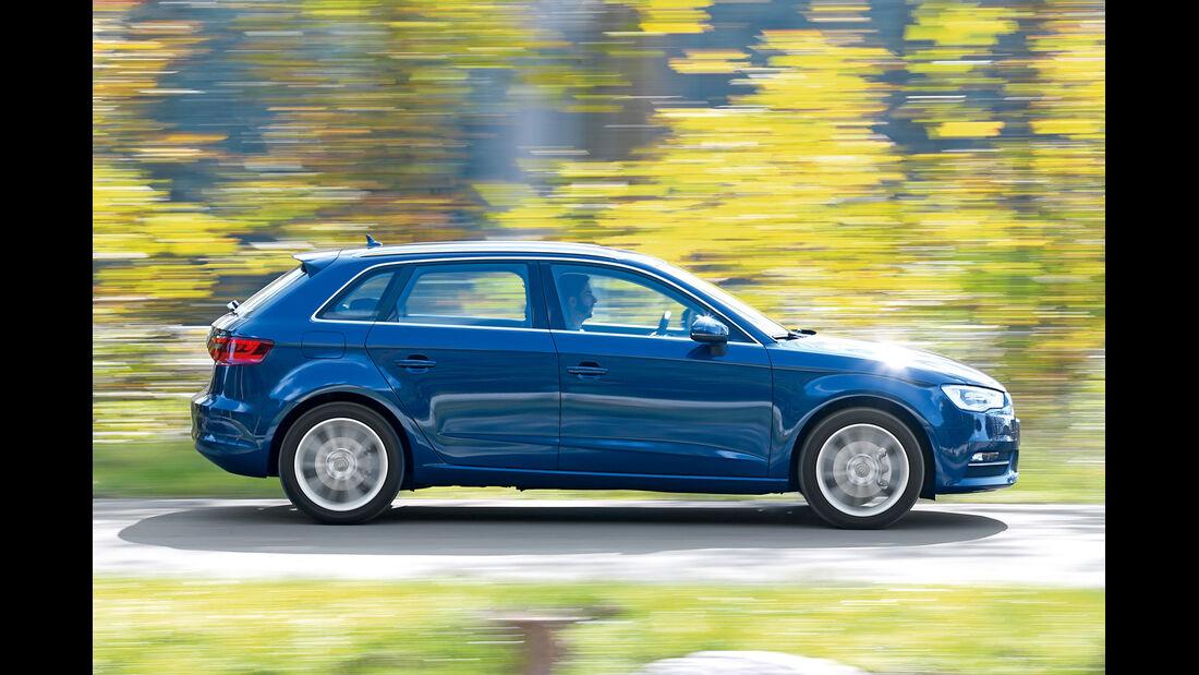 Audi A3 Sportback, BMW 116i und Mercedes A 180: Premium ...