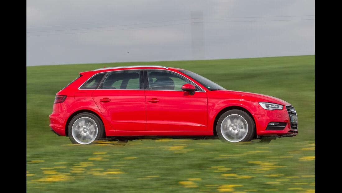 Audi A3 Sportback 1.6 TDI, Seitenansicht
