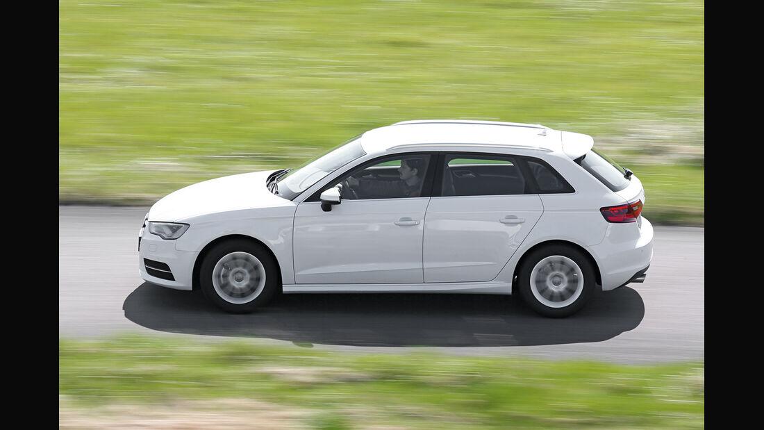 Audi A3 Sportback 1.6 TDI Ultra, Seitenansicht