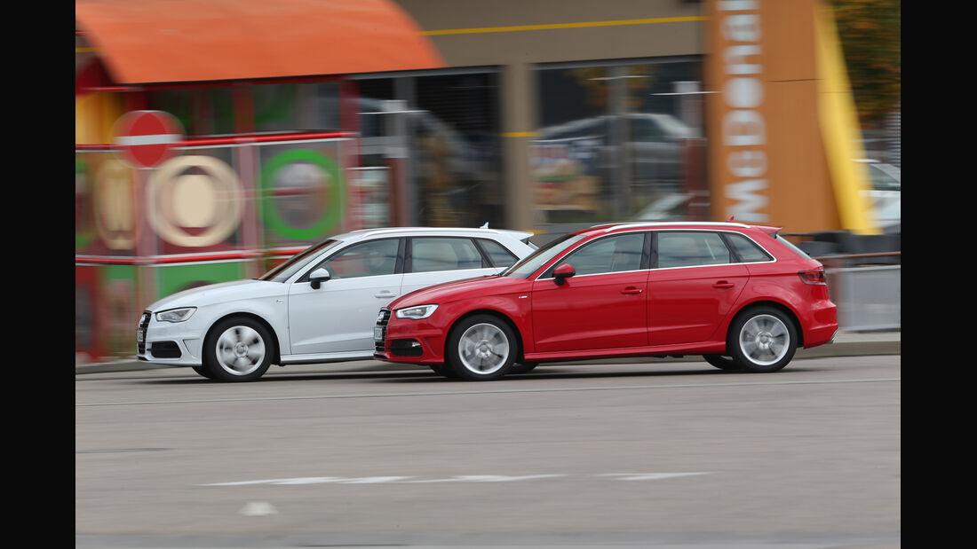 Audi A3 Sportback 1.8 TFSI, Audi A3 Sportback 2.0 TDI, Seitenansicht