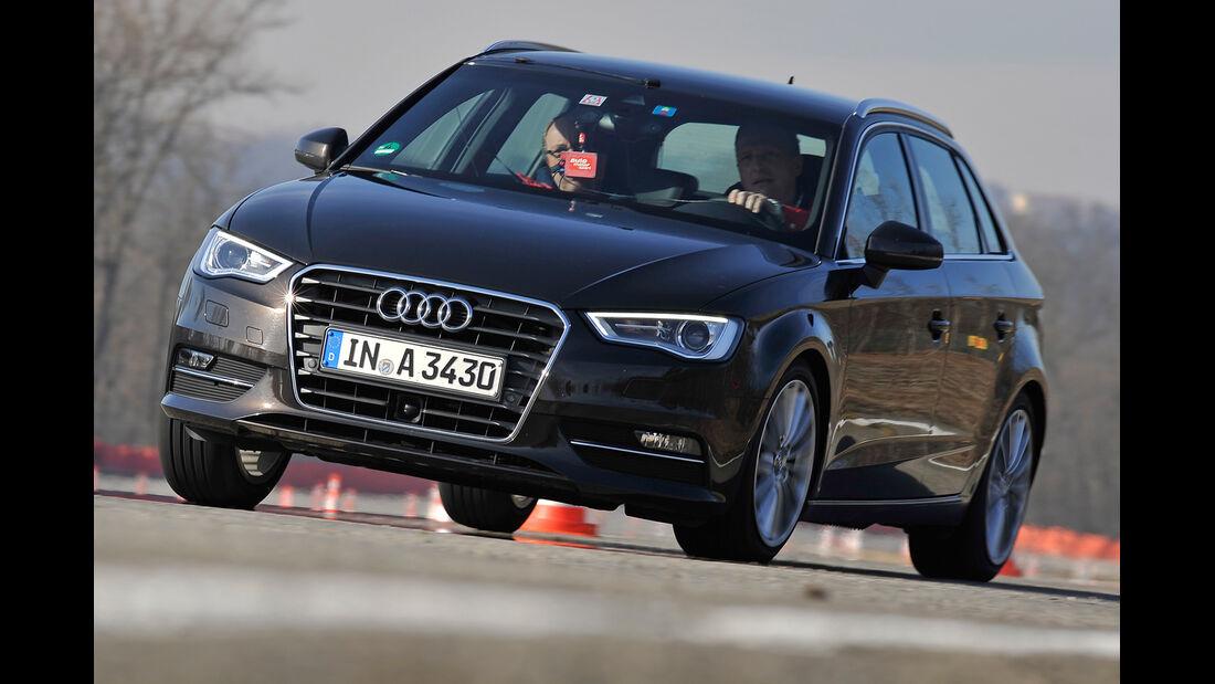 Audi A3 Sportback 2.0 TDI, Frontansicht