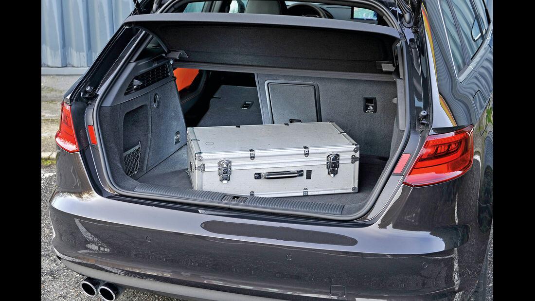 Audi A3 Sportback 2.0 TDI, Kofferraum