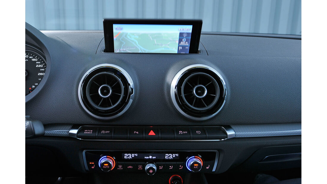 Audi A3 Sportback 2.0 TDI, Navi, Bildschirm