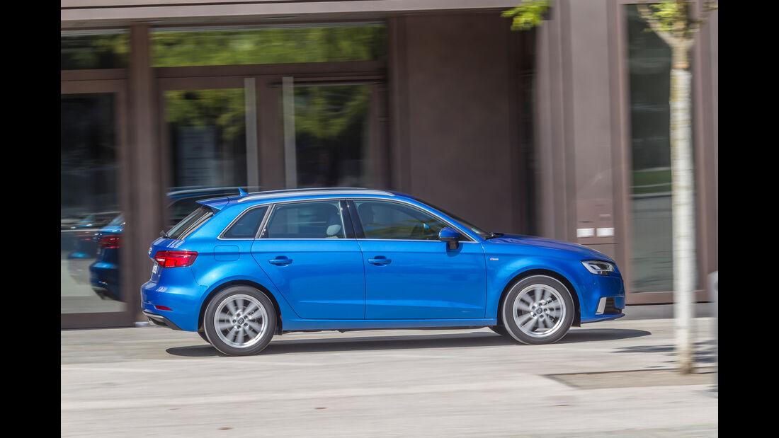 Audi A3 Sportback 2.0 TDI, Seitenansicht