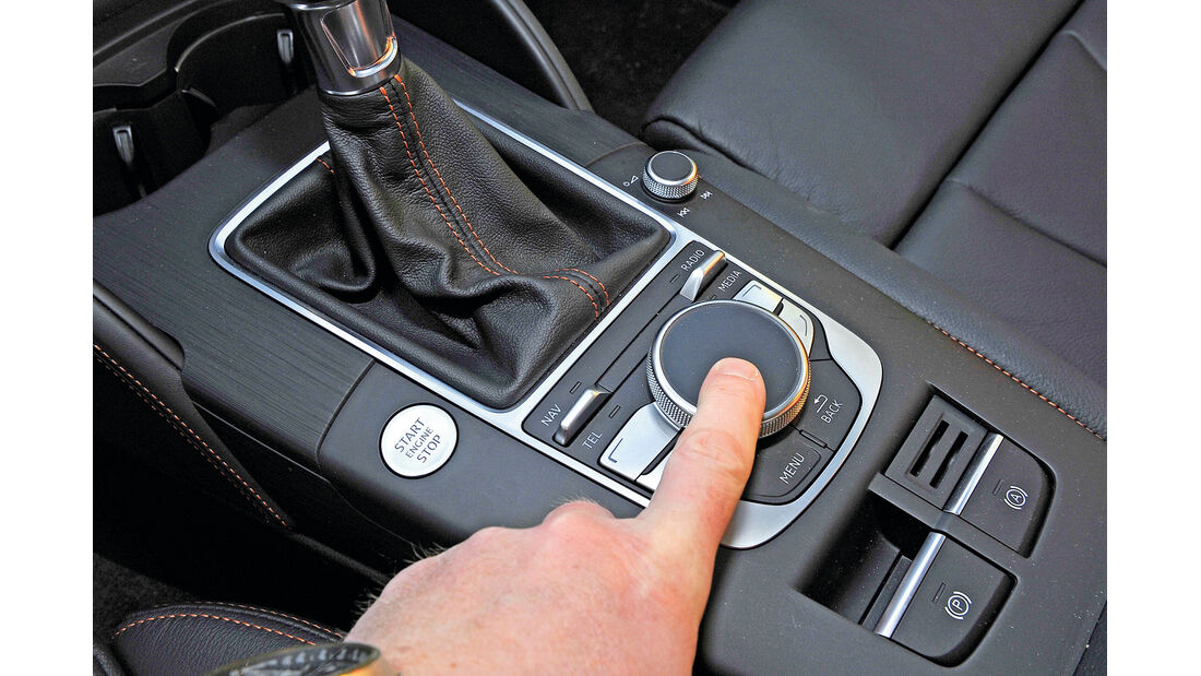 Audi A3 Sportback 2.0 TDI, Touchpad, Bedienelement