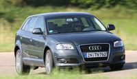 Audi A3 Sportback 2.0 TdI Quattro, Frontansicht