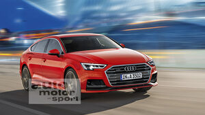 Audi A3 Sportback Computer-Retusche