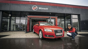 Audi A3 Sportback, Gebrauchtwagen-Check, asv1018