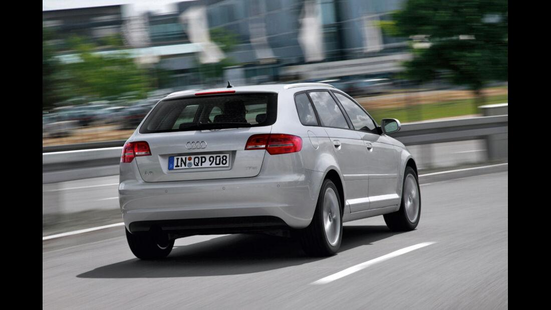 Audi A3 Sportback, Heck
