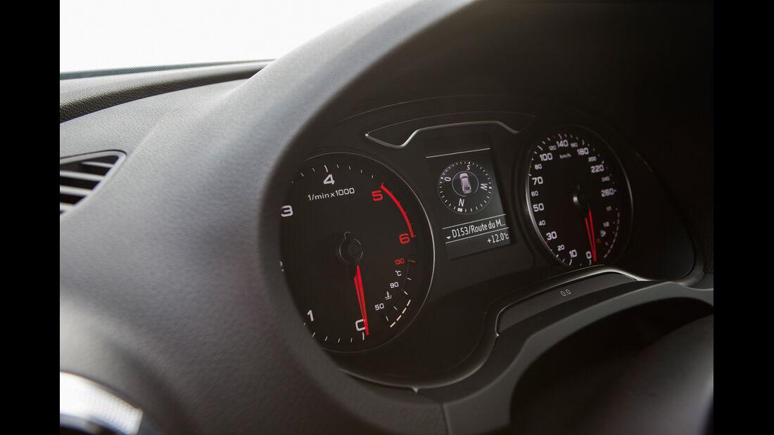 Audi A3 Sportback, Rundinstrumente