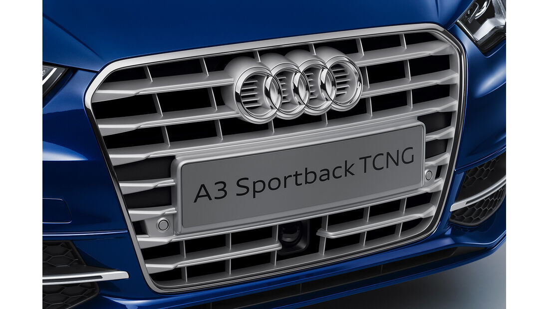 Audi A3 Sportback TCNG, Kühlergrill
