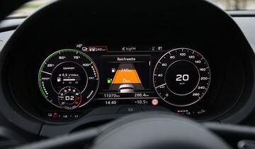 Audi A3 Sportback e-tron, Anzeigeinstrumente