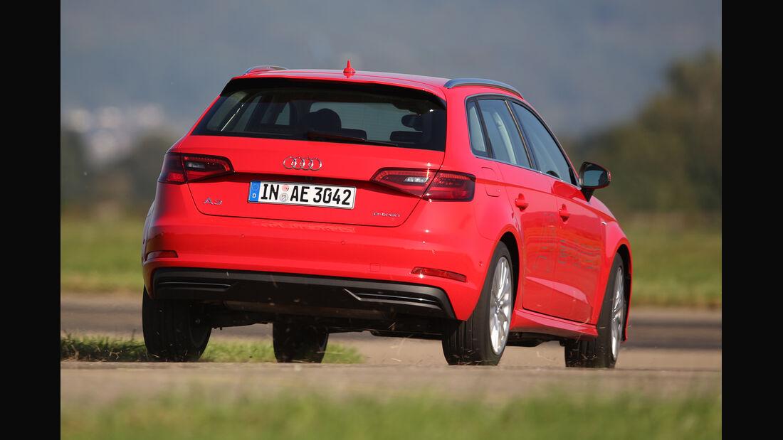 Audi A3 Sportback e-tron, Heckansicht