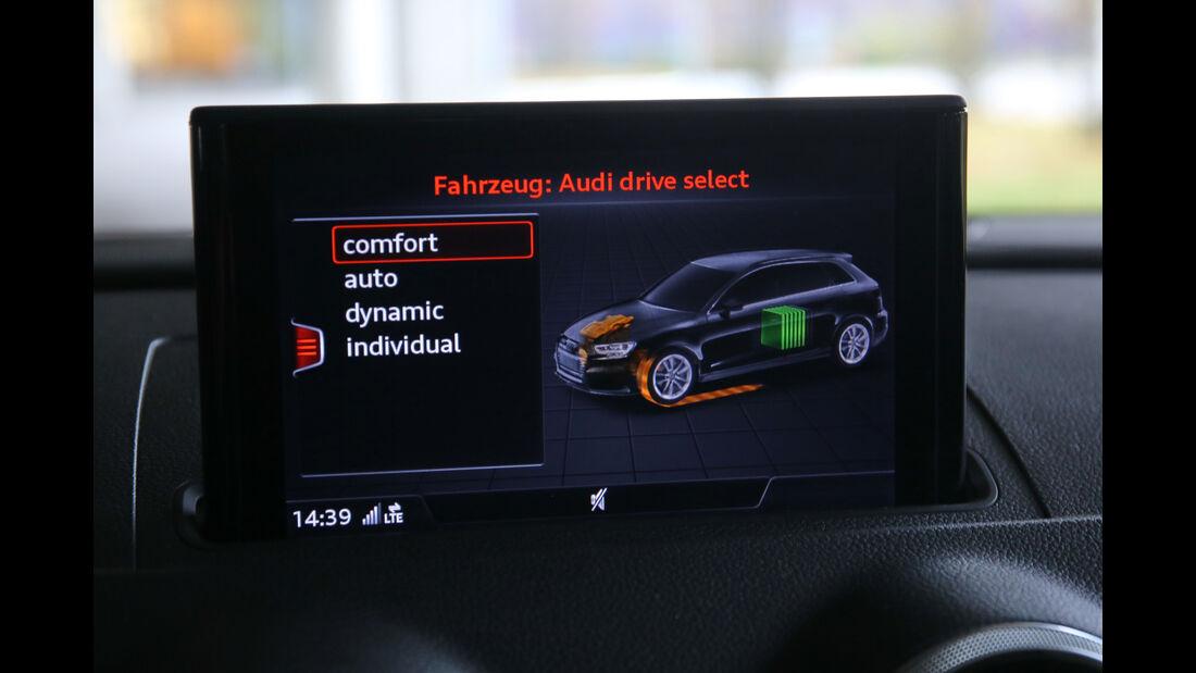 Audi A3 Sportback e-tron, Infotainment