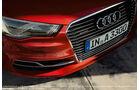 Audi A3 Sportback e-tron, Scheinwerfer, Kühlergrill