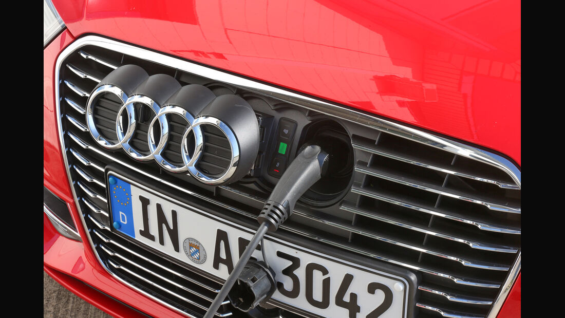 Audi A3 Sportback e-tron, Strombuchse, Ladevorgang