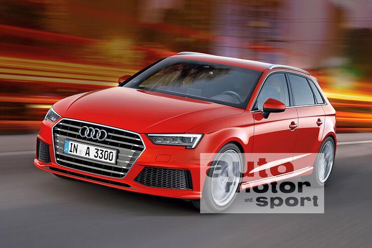 Neue Kompakte bis 2018: Audi legt vor, BMW und Mercedes kontern - AUTO ...
