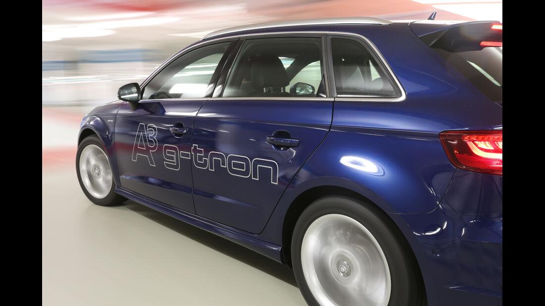 Audi A3 Sportback g-tron, Seitenlinie